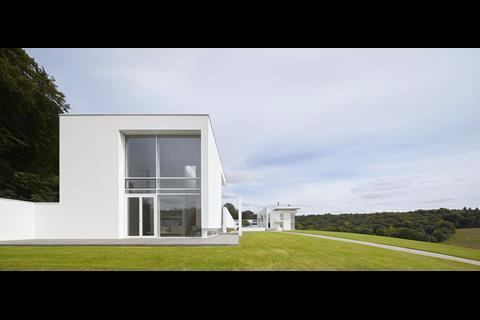 Oxfordshire Residence Richard Meier Partners Architects with Berman Guedes Stretton
